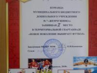 """Спортивные соревнования """"Первые шаги в футболе"""" (второй этап)"""